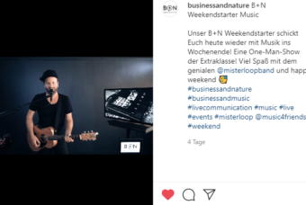 mister loop bei instagram